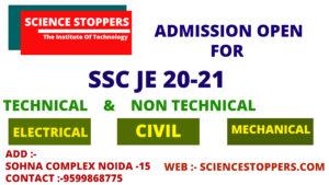 SSC JE coaching in delhi